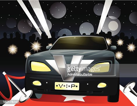 VIP Limousine : Vector Art