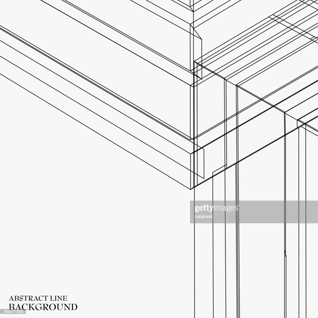 line pattern background : Vectorkunst