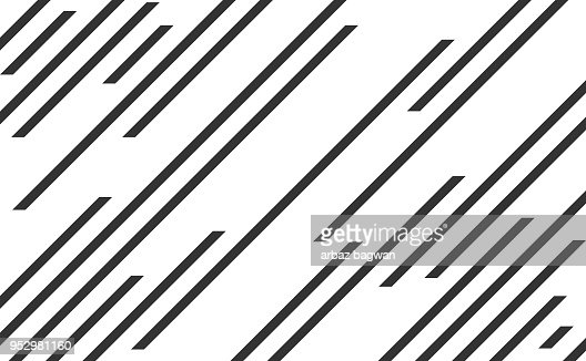 Line pattern, speed lines : Vector Art