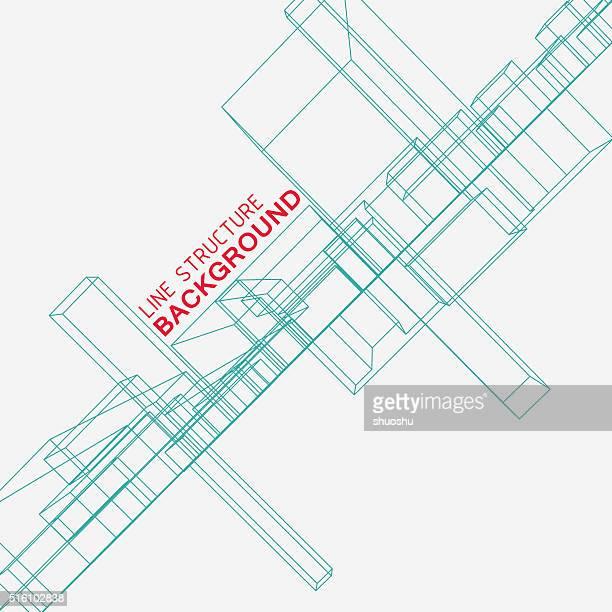 structure de fond de ligne