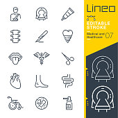 Vector Icons - Adjust stroke weight - Expand to any size - Change to any colour