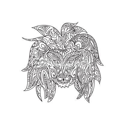 Página Para Colorear De León Arte vectorial | Thinkstock