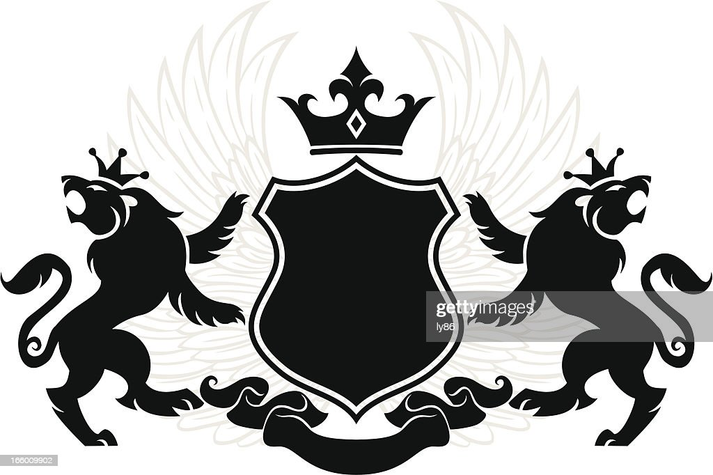 Lion Crest Vector Art | Getty Images