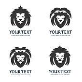 Lion, Shield, Crown, Gold, Head