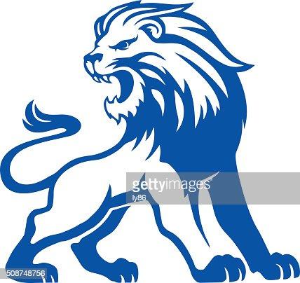 Lion roar vector - photo#26