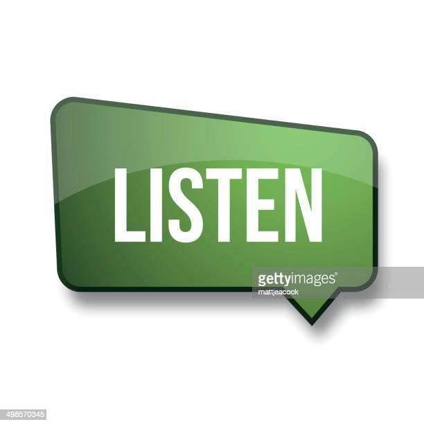Listen green label