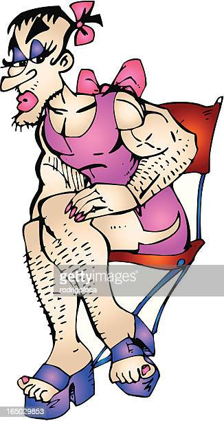 Crossdressing Stock Illustrations And Cartoons Getty Images