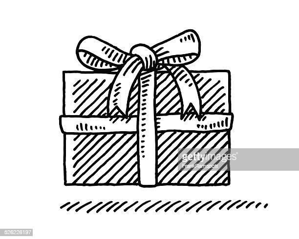 Petit coffret cadeau Bow dessin