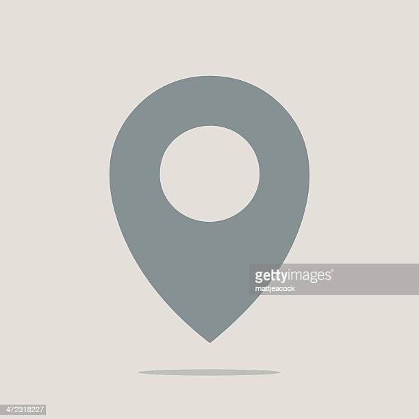 Location marker symbol