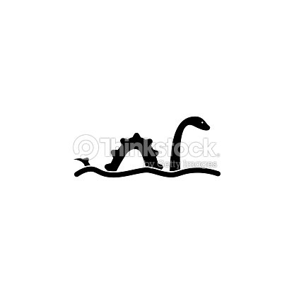 loch ness monster icon element of united kingdom culture icons