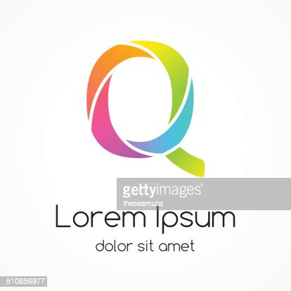logo letter q company vector design template vector art thinkstock