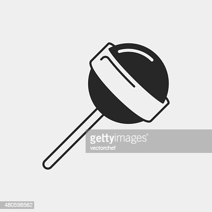 lollipop icon : Vector Art