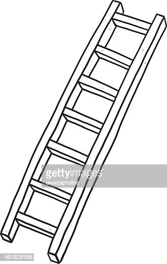 Long Ladder Vector Art Thinkstock