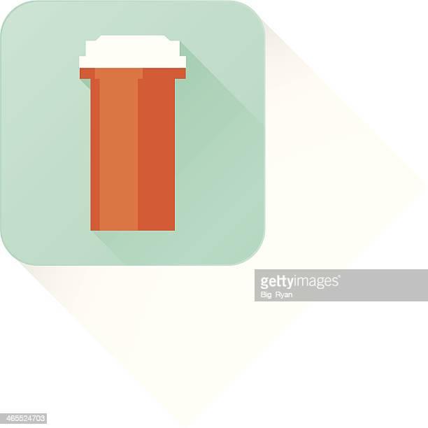 long shadow medicine bottle