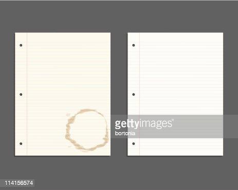 looseleaf paper