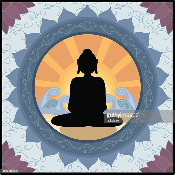 Bouddha Lotus (vecteur