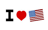 I love the American flag design with heart