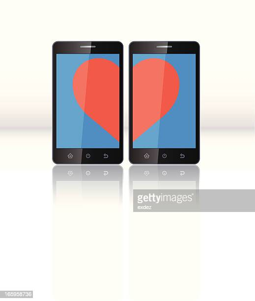 Love on Smartphone
