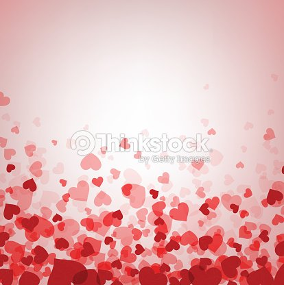 love valentines background with hearts ベクトルアート thinkstock