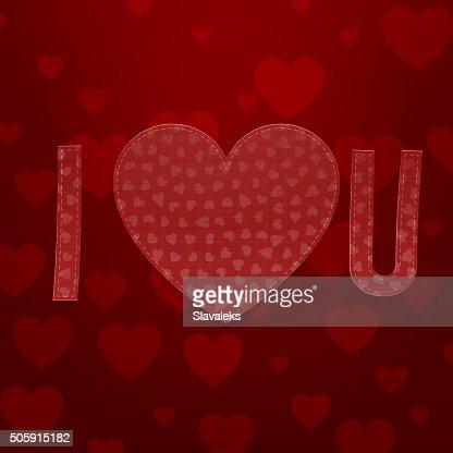 I Love You Abbreviation Valentines Day Symbols Vector Art Thinkstock