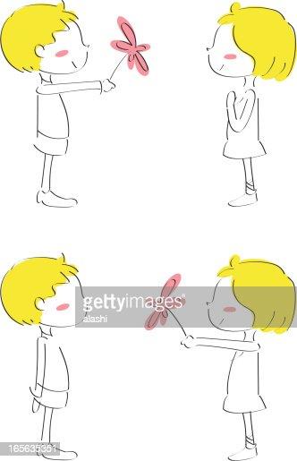 Phrase pour flirter