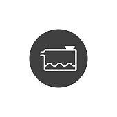 Low coolant indicator icon