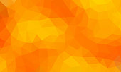low poly background orange color