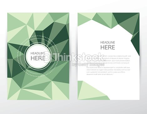 Low polygon style business corporate brochure cover and letterhead low polygon style business corporate brochure cover and letterhead template vector art spiritdancerdesigns