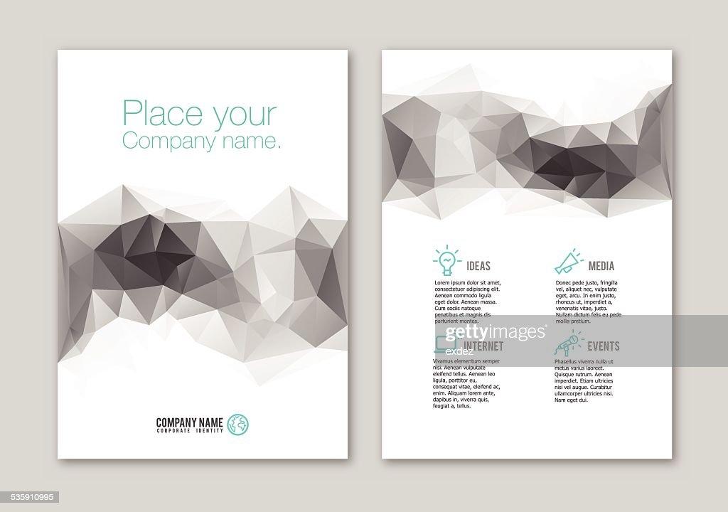 Lowpoly portfolio Design : Vector Art