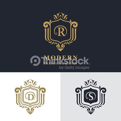 Lettre Signe Emblme R D S Pour Restaurant Royaut Carte De Visite Badge Boutique Htel Hraldique Bijoux Mode Immobilier