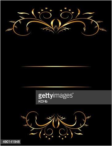 Luxury card or invitation : Vector Art