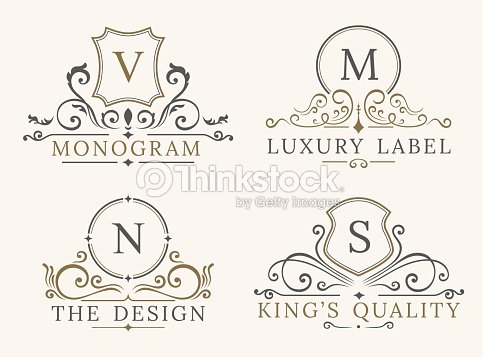Luxury logo template shield business sign for signboard monogram luxury logo template shield business sign for signboard monogram identity vector art friedricerecipe Choice Image