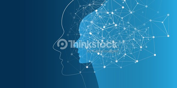 Machine Learning, Artificial Intelligence, Cloud Computing and Networks Design Concept : stock vector