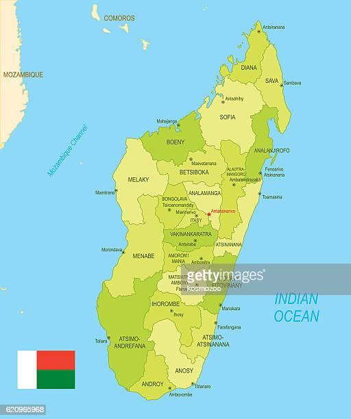 マダガスカルのイラスト素材と絵マダガスカルのイラスト素材と絵