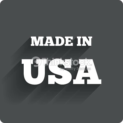 Made In The Usa Icon Export Production Symbol Vector Art Thinkstock
