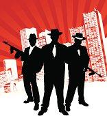 Mafia Gang Illustration