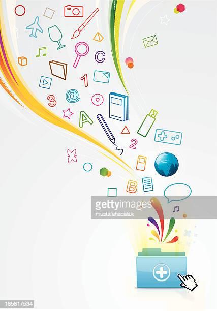 Magic folder