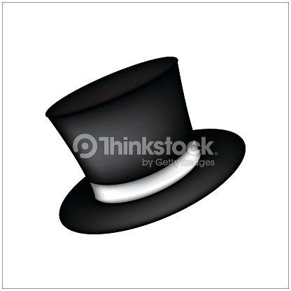 Magic Hat Gentiluomo Cappello Cilindro Con Nastro Simbolo Icona Del ... 420b7725d09f
