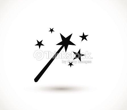 Magic Wand Icon Vector Illustration Vector Art Thinkstock