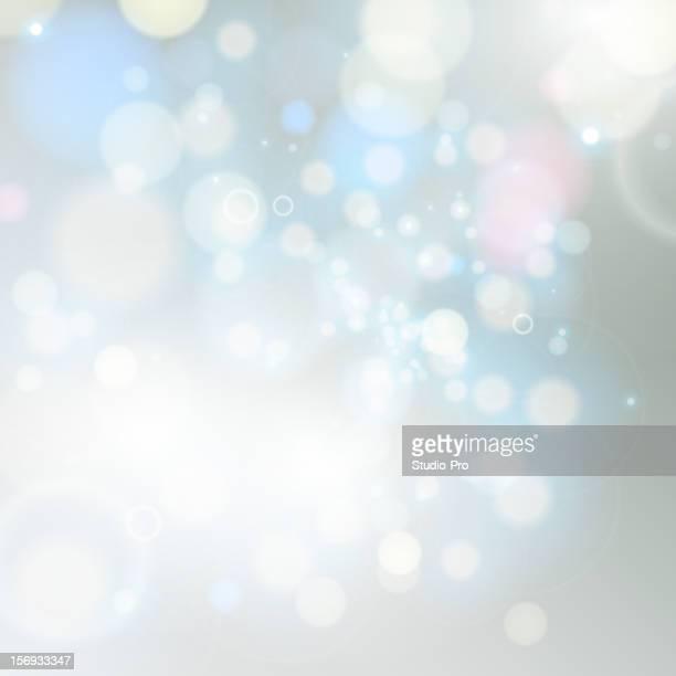 Fond de lumières magique