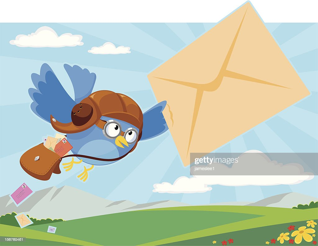 Mail Delivery : Vector Art