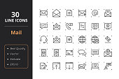 High quality law line icons. Icons for user interfaces and web