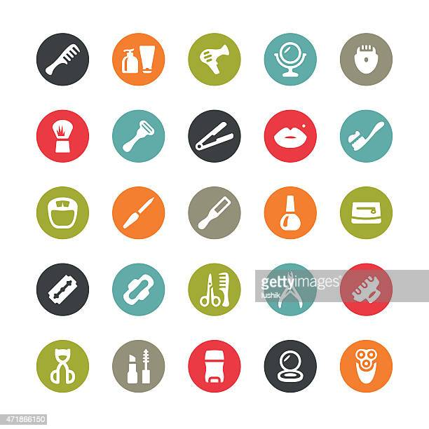 Make-up and Beauty related vector icons / Ringico series