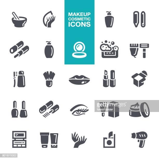 Symbole für Make-up und Kosmetik