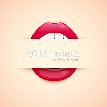 Carte De Visite Dartiste Maquillage Modle Avec Texte Fot Lvres Rouges Imprims Et Vide Lespace