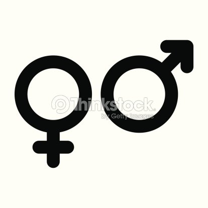 Male And Female Sign Gender Symbol Vector Art Thinkstock