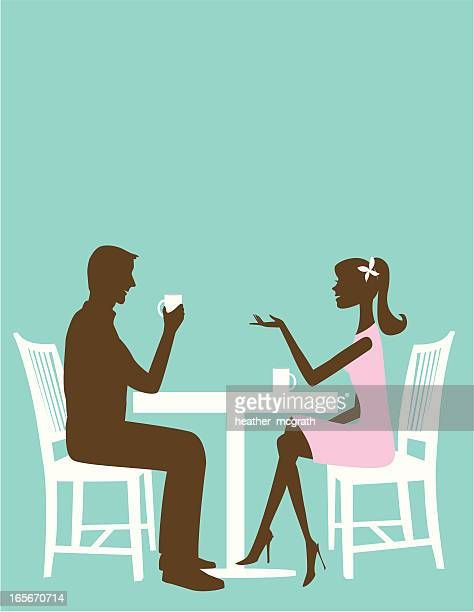 Man and Woman at the table