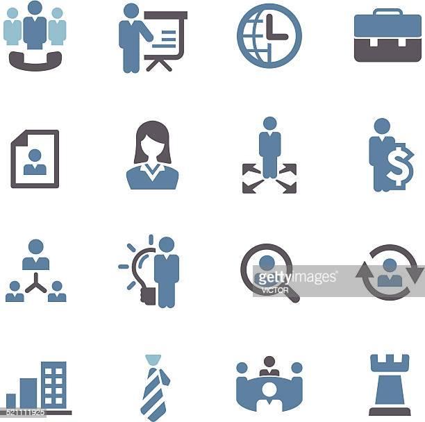 Management Icons - Conc Series