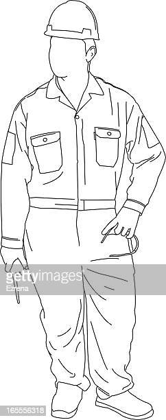 Protective Workwear Stock Illustrations And Cartoons
