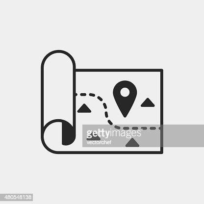 map icon : Vector Art
